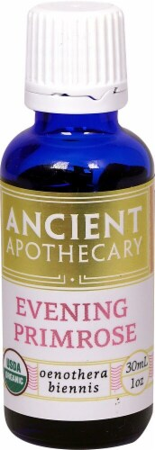 Ancient Apothecary Organic Essential Evening Primrose Oil Perspective: front