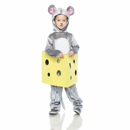 Seeing Red 276309 Halloween Mouse in Cheese Child Costume - 2XS Perspective: front