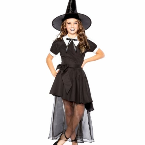 Seeing Red 413779 Salem Witch Child Costume - Medium Perspective: front