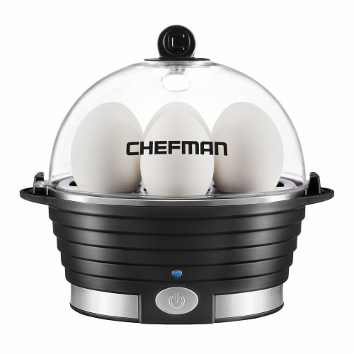 Chefman Electric Egg Cooker Boiler - Black Perspective: front