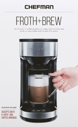 Chefman Froth and Brew Coffee Maker Perspective: front