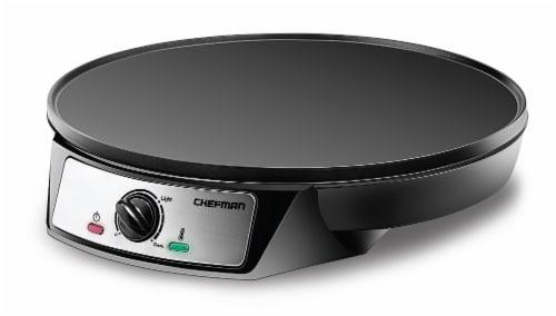 Chefman Electric Crepe Maker & Griddle Perspective: front