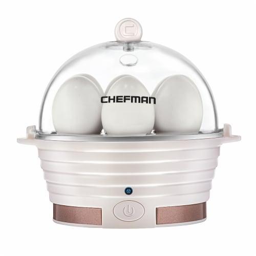 Chefman Electric Egg Cooker Boiler - Ivory Perspective: front