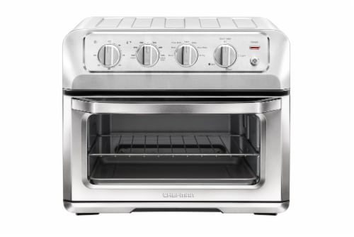 Chefman Stainless Steel ToastAir Air Fryer and Toaster Oven Perspective: front