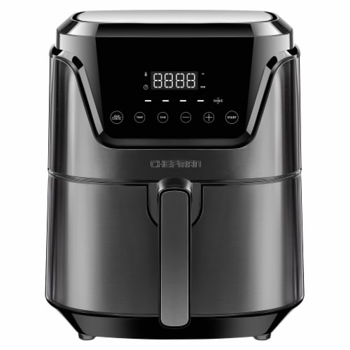 Chefman TurboFry Touch Digital Air Fryer - Black Perspective: front