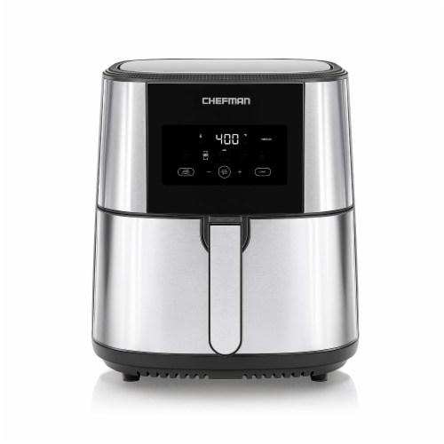 Chefman Air Fryer with Divider Perspective: front