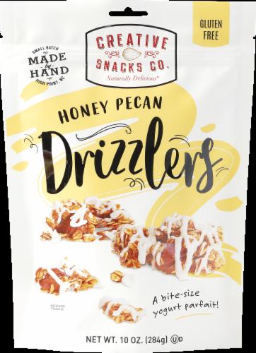 Creative Snacks Honey Pecan Drizzlers Perspective: front