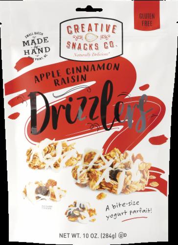 Creative Snacks Co. Apple Cinnamon Raisin Drizzlers Perspective: front