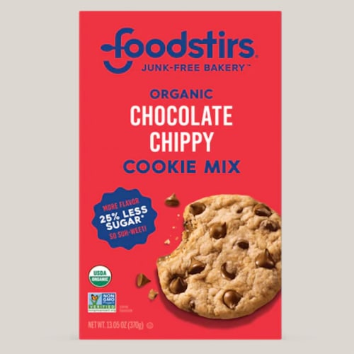 Foodstirs Organic Chocolate Chippy Cookie Mix Perspective: front
