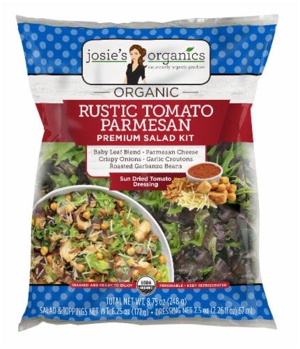 Josie's Organics Rustic Tomato Parmesan Premium Salad Kit Perspective: front