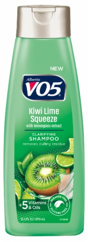 VO5 Herbal Escapes Kiwi Lime Squeeze Clarifying Shampoo Perspective: front