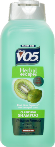 VO5 Kiwi Lime Squeeze Shampoo Perspective: front