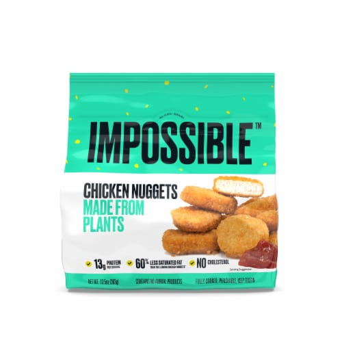 Impossible™ Chicken Nuggets Made From Plants Perspective: front
