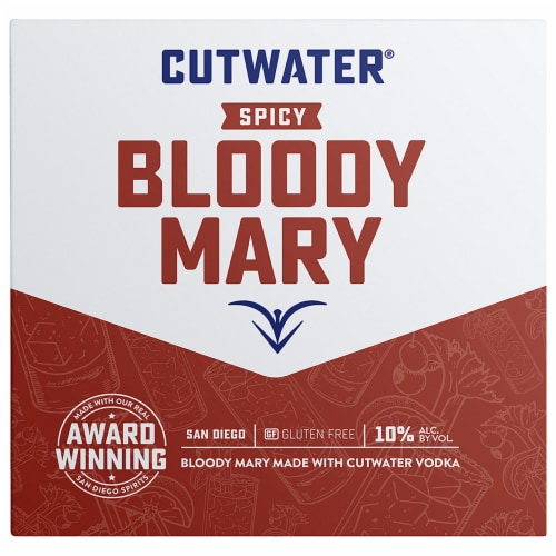 Cutwater Spirits Fugu Vodka Spicy Bloody Mary Mix Perspective: front
