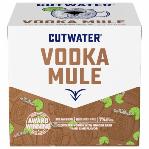 Cutwater Spirits Fugu Vodka Mule Perspective: front