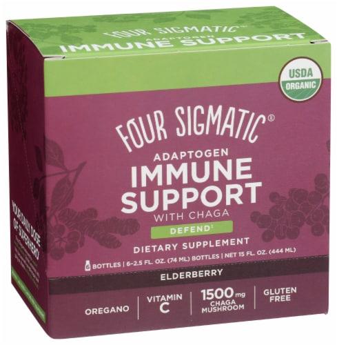 Four Sigmatic Adaptogen Elderberry Immune Support Dietary Supplement Perspective: front