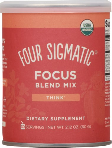 Four Sigmatic Think Focus Blend Mix Perspective: front