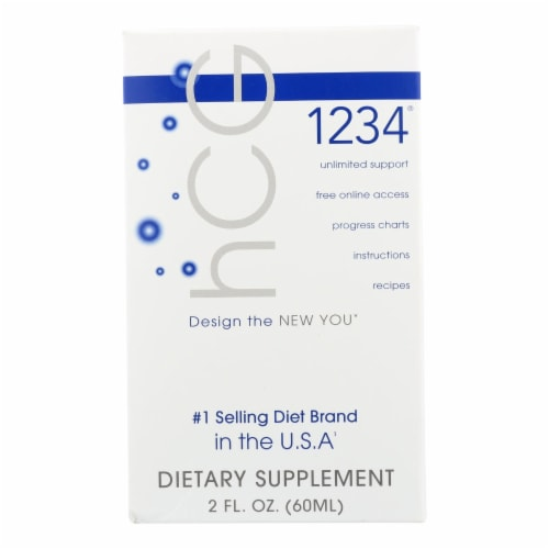 Creative Bioscience hCG 1234 - Oral Diet Drops - 2 oz Perspective: front