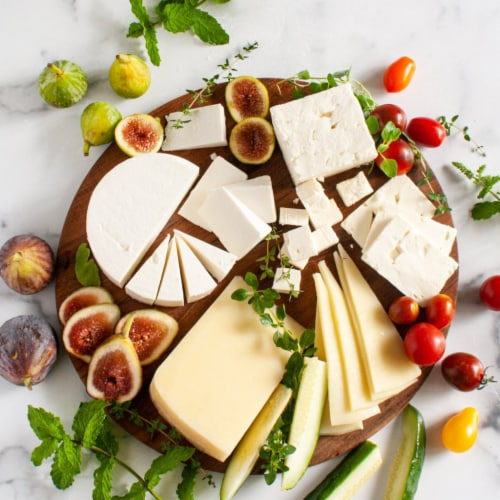 Greek Cheese Assortment in Gift Box (26.5 ounce) Perspective: front
