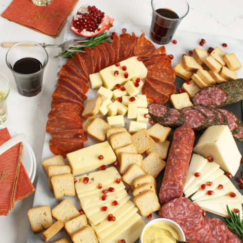 igourmet assortment of Gourmet Meat and Cheese Favorites Perspective: front