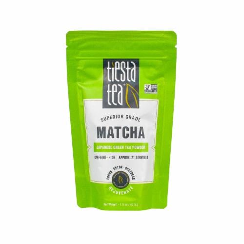 Tiesta Tea Superior Matcha Green Tea Perspective: front