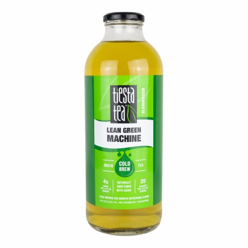 Tiesta Tea Lean Green Machine Cold Brew Green Tea Perspective: front
