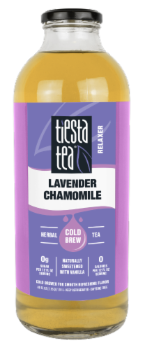 Tiesta Tea Lavender Chamomile Relaxer Cold Brew Tea Perspective: front