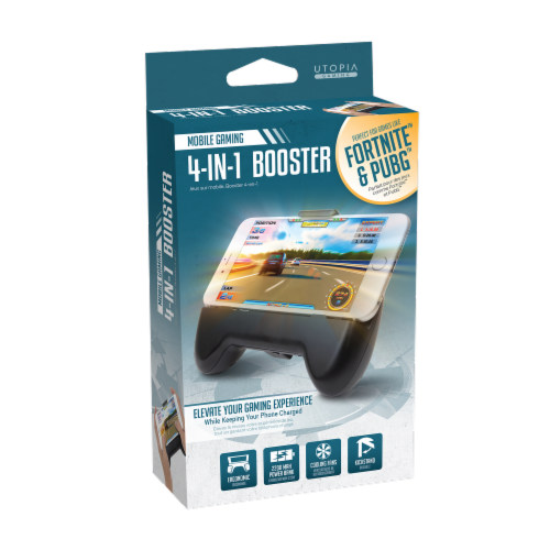 Utopia 4-IN-1 Gaming Booster Perspective: front