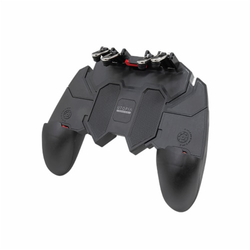Utopia 4 Trigger Mobile Gaming Controller Perspective: front