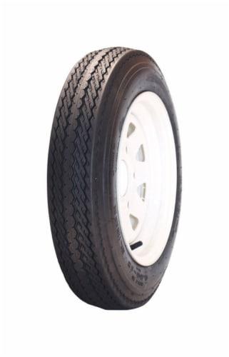 Marastar 12 in. Dia. x 20.3 in. Dia. 990 lb. capacity 4-Bolt Tire Rubber 1 pk Perspective: front