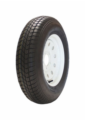 Marastar 13 in. Dia. x 23.8 in. Dia. 1360 lb. capacity 5-Bolt Tire Rubber 1 pk - Case Of: 1; Perspective: front