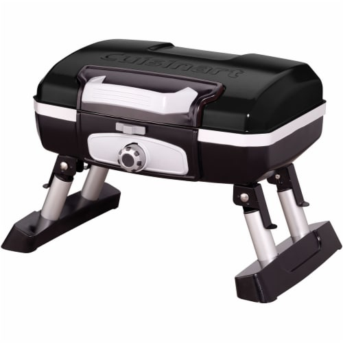 Cuisinart Portable Tabletop Outdoor Gas Gril - Black Perspective: front
