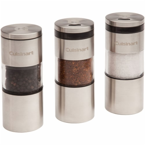 Cuisinart Magnetic Grilling Spice Container Set Perspective: front