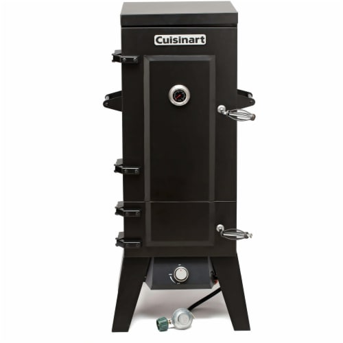 Cuisinart Vertical Propane Gas Smoker Perspective: front