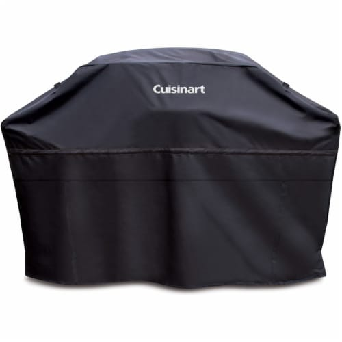 Cuisinart Rectangular Grill Cover - Black Perspective: front