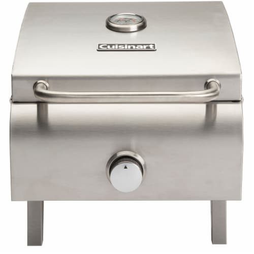 Cuisinart Stainless Steel Professional Portable Gas Grill Perspective: front