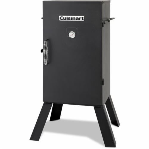 Cuisinart Electric Vertical Smoker Perspective: front