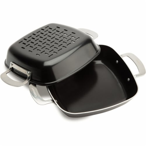 Cuisinart Non-Stick Grilling Pan Set Perspective: front