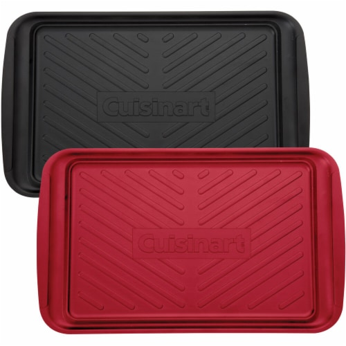 Cuisinart Color Coded Prep and Serve Grilling Trays Perspective: front
