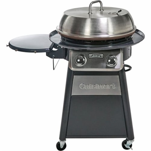 Cuisinart Deluxe Outdoor Griddle Cooking Center Perspective: front