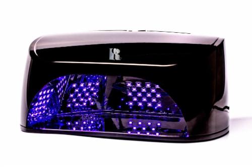 Red Carpet Manicure Pro Salon 5 Finger 30-Sec LED Gel Nail Polish Curing Light Perspective: front
