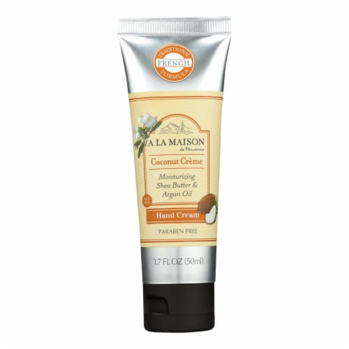 A La Maison - Hand Cream - Coconut Creme - 1.7 fl oz. Perspective: front