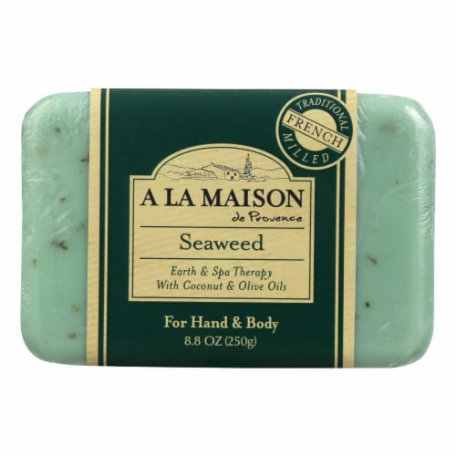 A La Maison - Bar Soap - Seaweed - 8.8 Oz Perspective: front