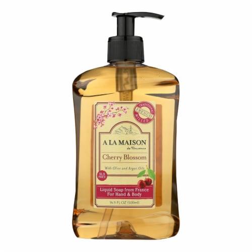 A La Maison - French Liquid Soap Cherry Blossom - 1 Each - 16.9 FZ Perspective: front