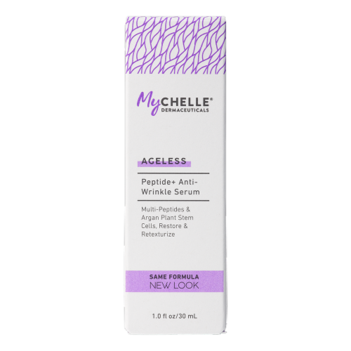 MyChelle Dermaceuticals Peptide Anti-Wrinkle Serum Perspective: front