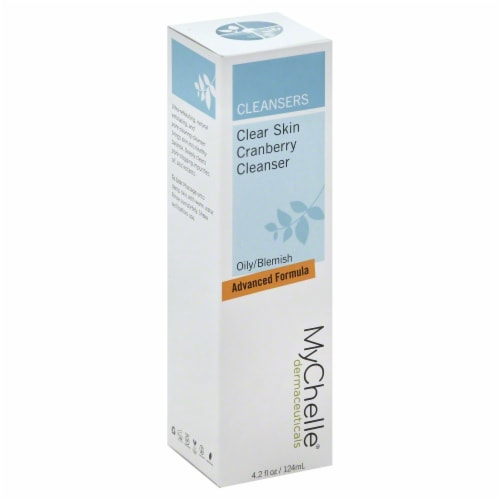 MyChelle Dermaceuticals Clear Skin Cranberry Cleanser Perspective: front