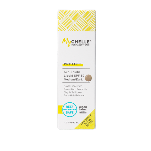 MyChelle Natural Tan Sunshield SPF 50 Perspective: front