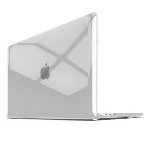 iBenzer Laptop Computer Case for MacBook Pro - Crystal Clear Perspective: front
