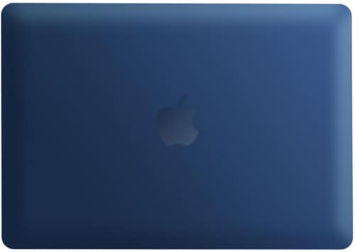 iBenzer Laptop Case for MacBook Air - Navy Blue Perspective: front