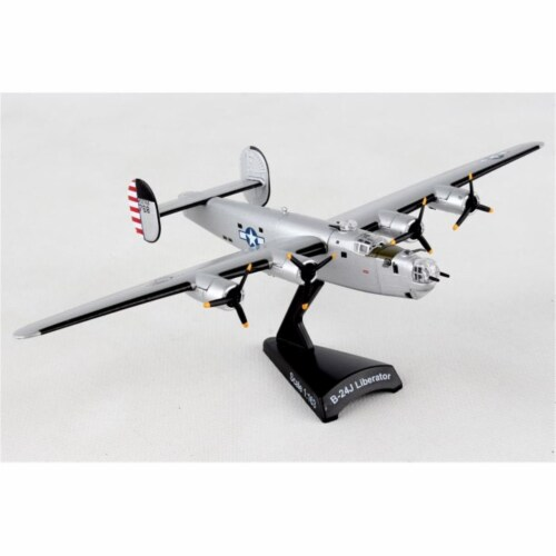 Postage Stamp Planes PS5557-4 B-24J 1-163 Million Dollar Baby Diecast Airplane Model Perspective: front